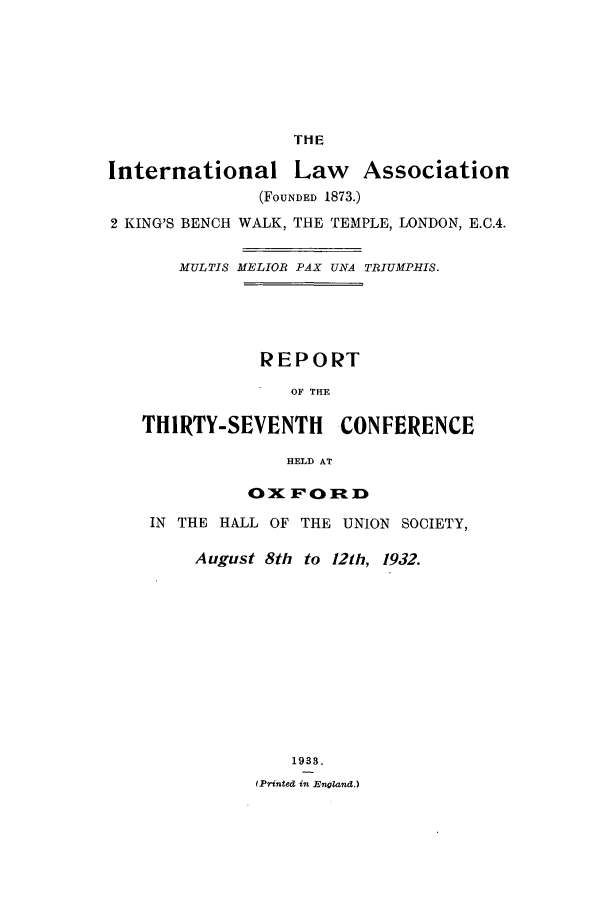handle is hein.ilarc/ilarc1932 and id is 1 raw text is: THE