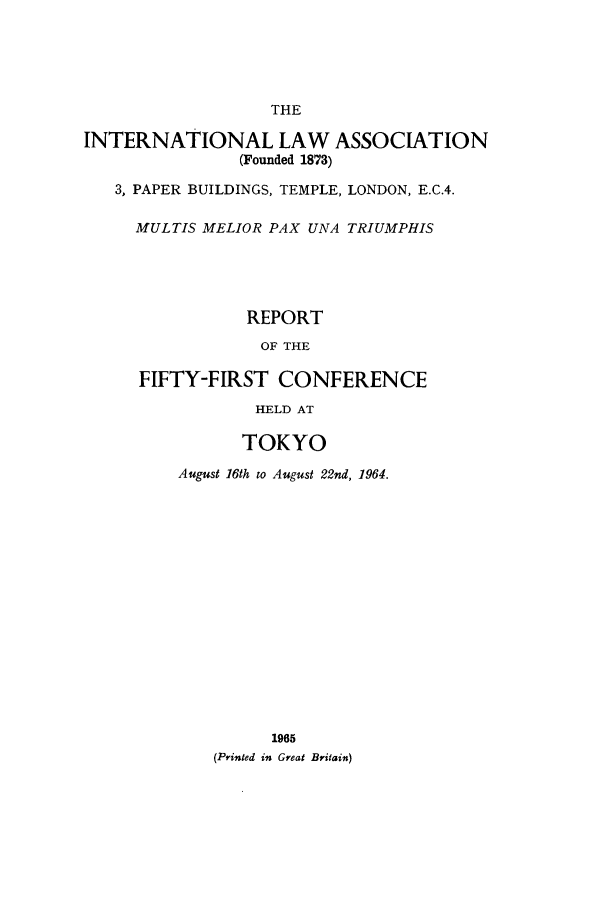handle is hein.ilarc/ilarc1964 and id is 1 raw text is: THE