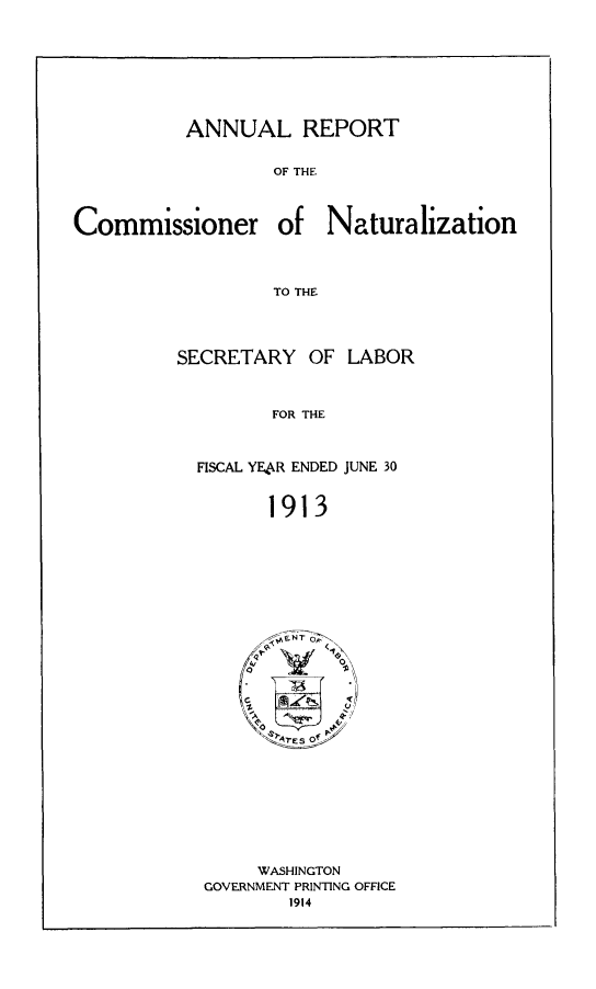 handle is hein.immigration/arisalisl0007 and id is 1 raw text is: ANNUAL REPORT