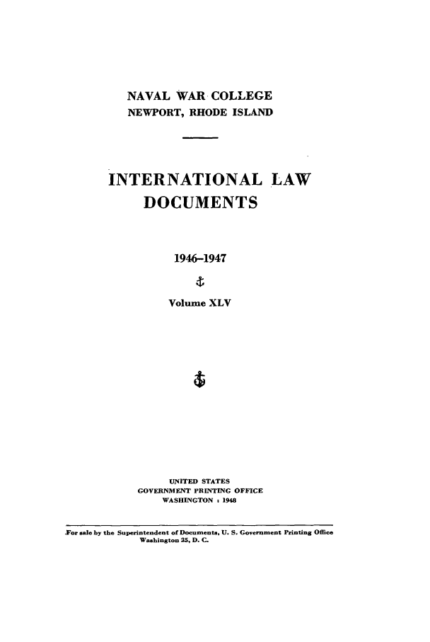handle is hein.intyb/ilsusnwc0045 and id is 1 raw text is: NAVAL WAR COLLEGE