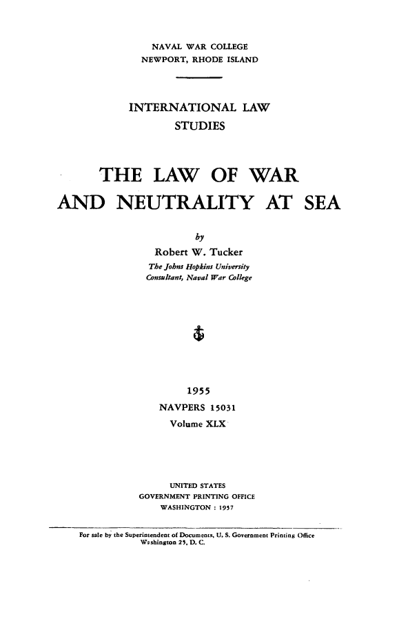 handle is hein.intyb/ilsusnwc0050 and id is 1 raw text is: NAVAL WAR COLLEGE