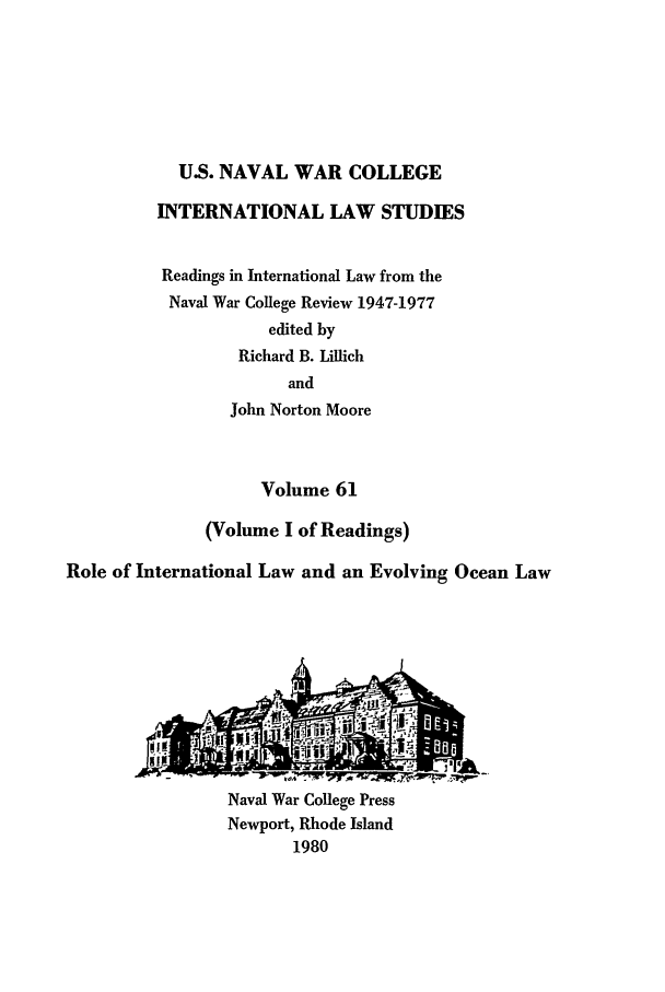 handle is hein.intyb/ilsusnwc0061 and id is 1 raw text is: U.S. NAVAL WAR COLLEGE