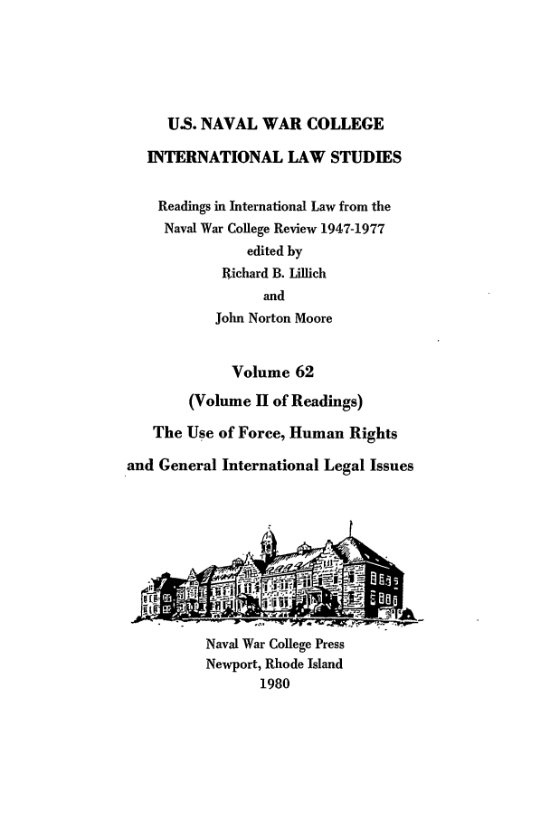 handle is hein.intyb/ilsusnwc0062 and id is 1 raw text is: U.S. NAVAL WAR COLLEGE