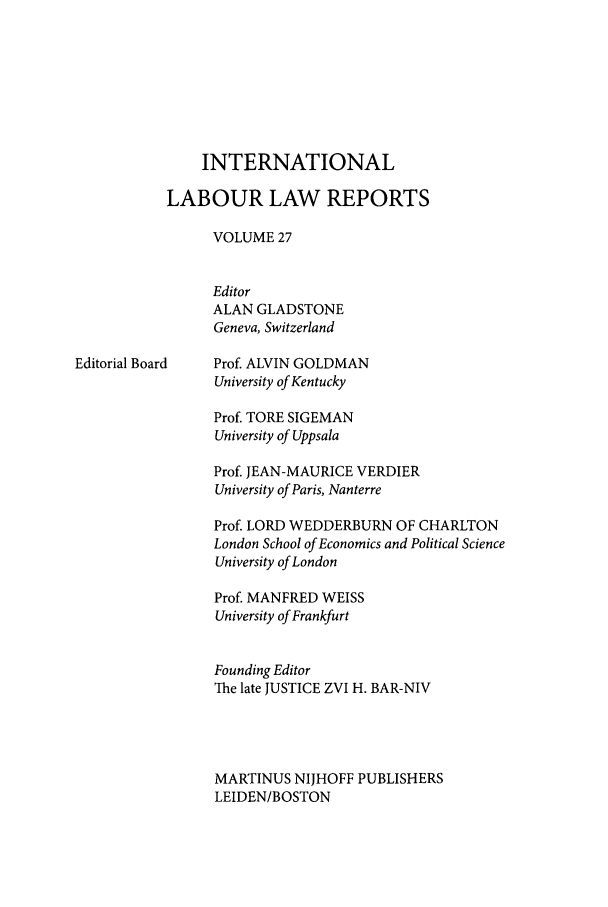 handle is hein.intyb/inllrep0027 and id is 1 raw text is: INTERNATIONAL