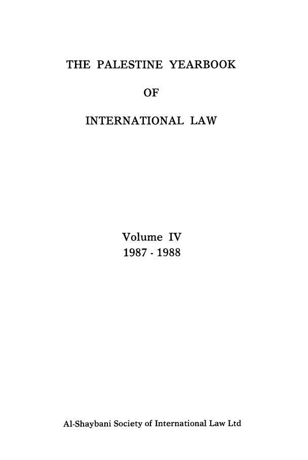 handle is hein.intyb/palesyb0004 and id is 1 raw text is: THE PALESTINE YEARBOOK