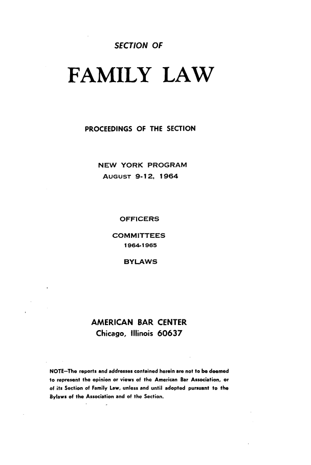 handle is hein.journals/abasfmsp1 and id is 1 raw text is: SECTION OF