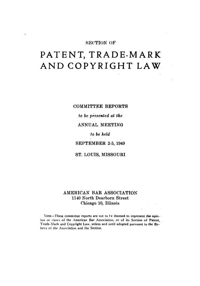 handle is hein.journals/abasptccp21 and id is 1 raw text is: SECTION OF