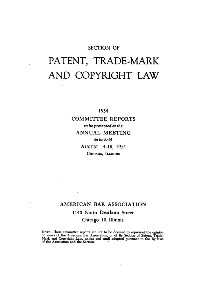 handle is hein.journals/abasptccp26 and id is 1 raw text is: SECTION OF