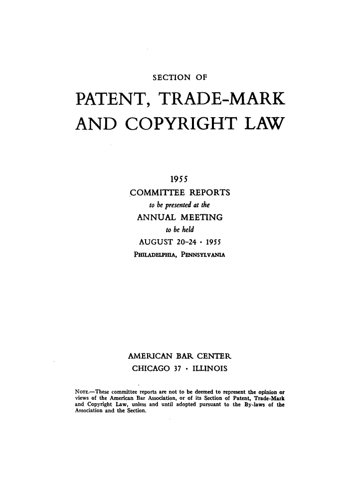 handle is hein.journals/abasptccp27 and id is 1 raw text is: SECTION OF