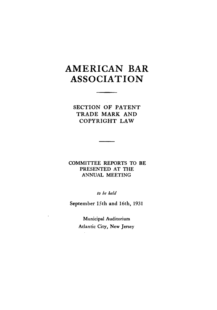 handle is hein.journals/abasptccp3 and id is 1 raw text is: AMERICAN BAR