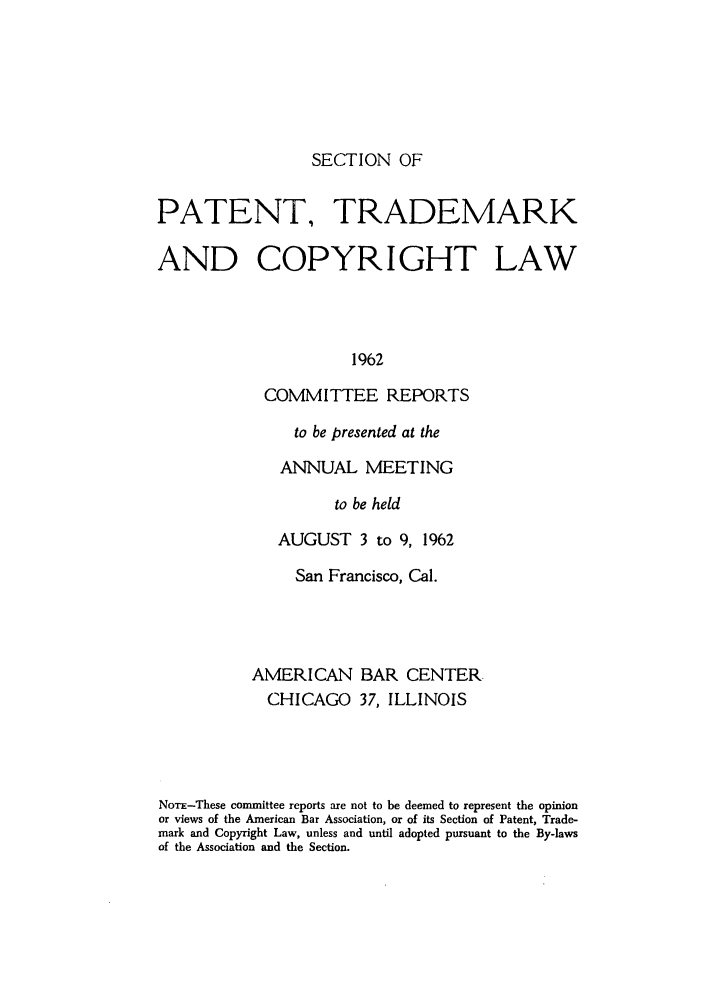 handle is hein.journals/abasptccp34 and id is 1 raw text is: SECTION OF