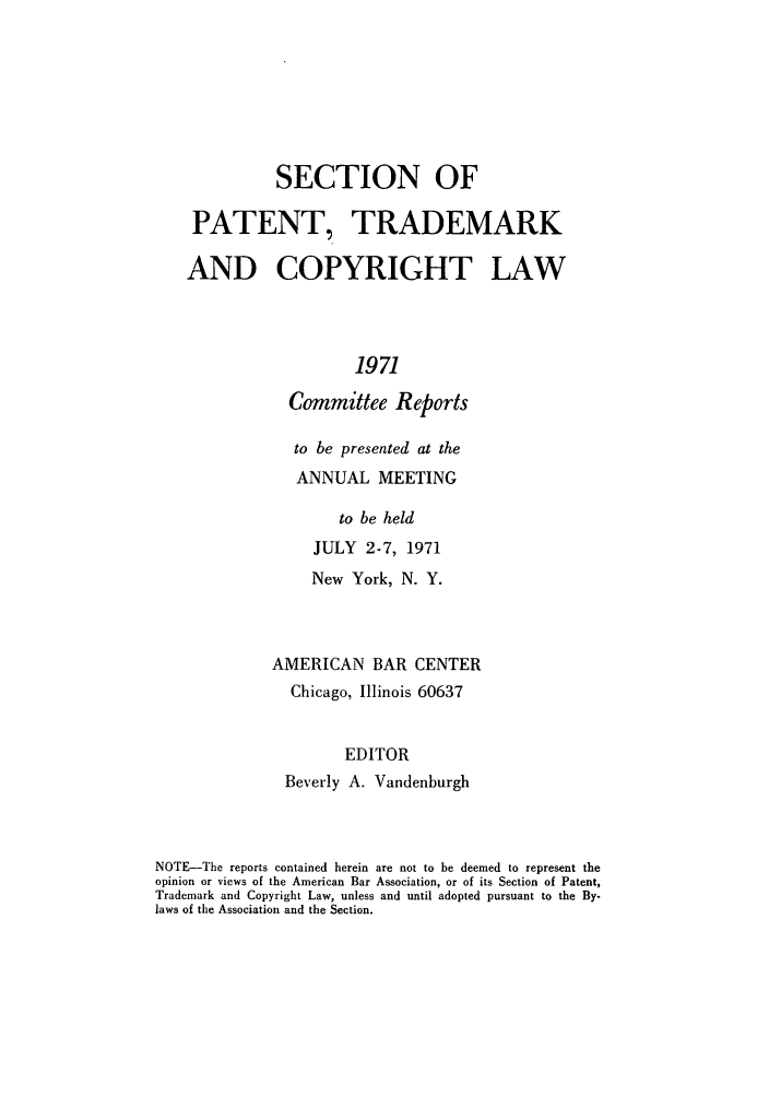 handle is hein.journals/abasptccp43 and id is 1 raw text is: SECTION OF
