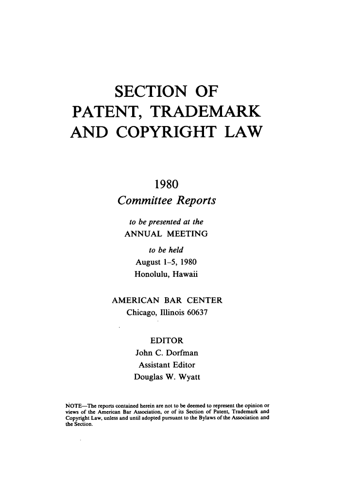handle is hein.journals/abasptccp52 and id is 1 raw text is: SECTION OF