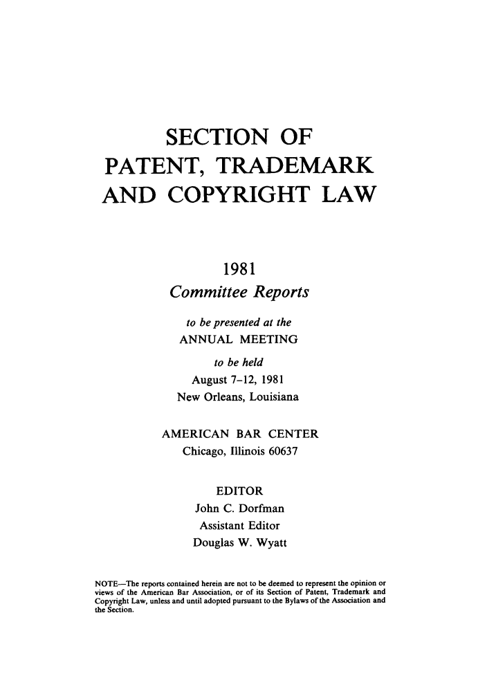 handle is hein.journals/abasptccp53 and id is 1 raw text is: SECTION OF