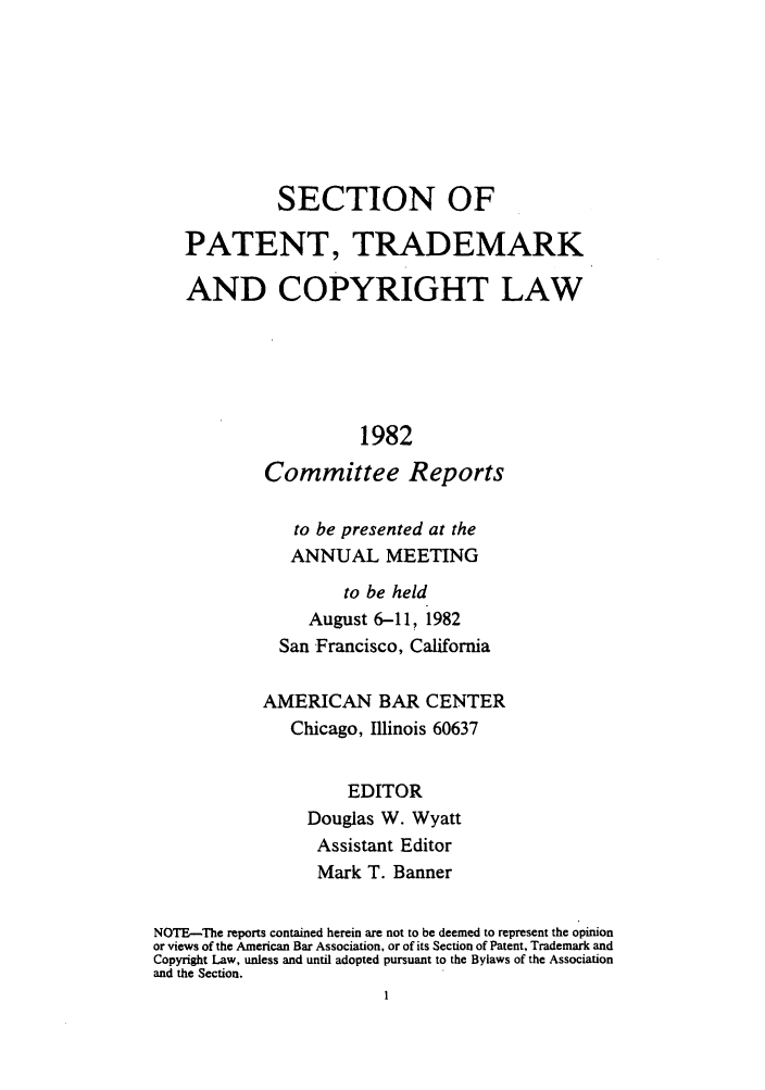 handle is hein.journals/abasptccp54 and id is 1 raw text is: SECTION OF