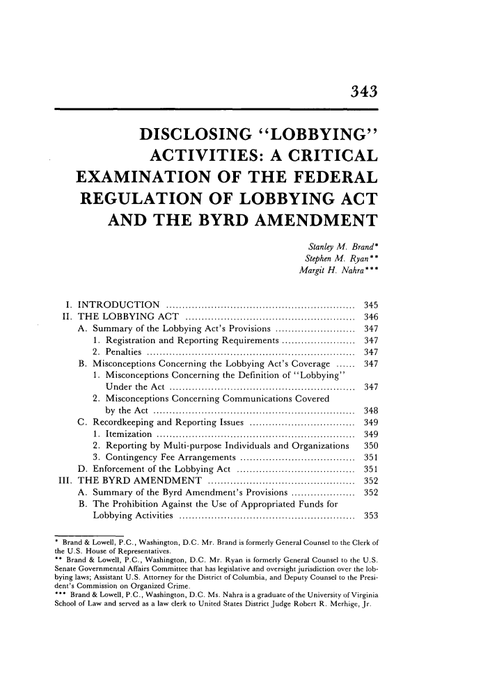 handle is hein.journals/admin45 and id is 355 raw text is: 343