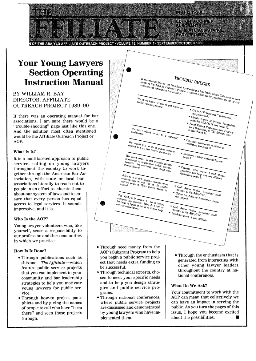 handle is hein.journals/aff15 and id is 1 raw text is: Your Young Lawye,