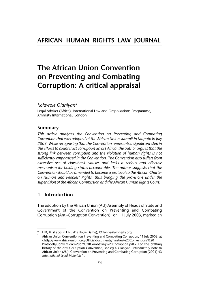handle is hein.journals/afrhurlj4 and id is 80 raw text is: AFRICAN HUMAN RIGHTS LAW JOURNAL