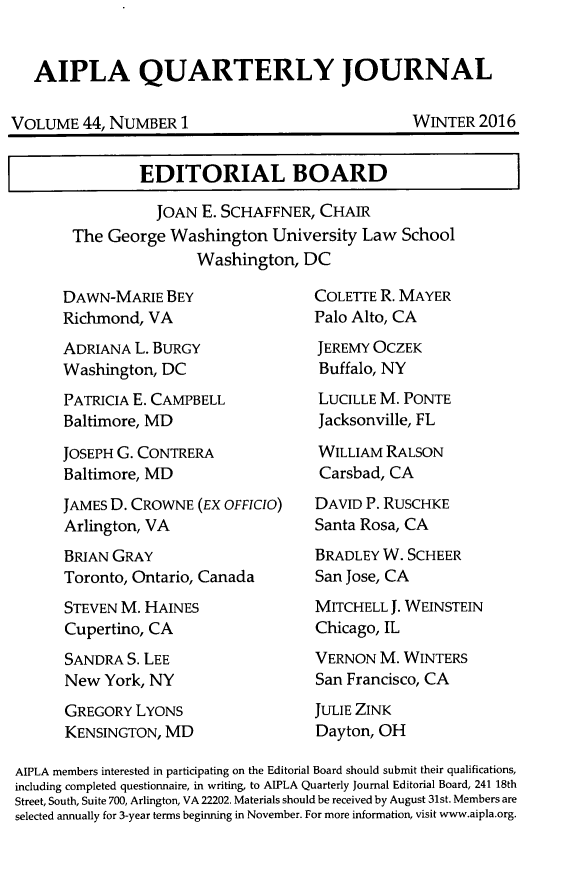 handle is hein.journals/aiplaqj44 and id is 1 raw text is: 