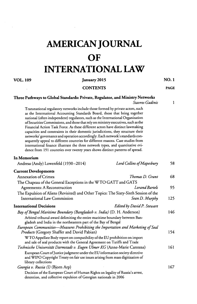 handle is hein.journals/ajil109 and id is 1 raw text is: 