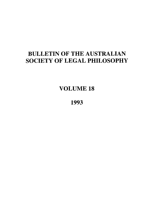 handle is hein.journals/ajlph18 and id is 1 raw text is: BULLETIN OF THE AUSTRALIAN