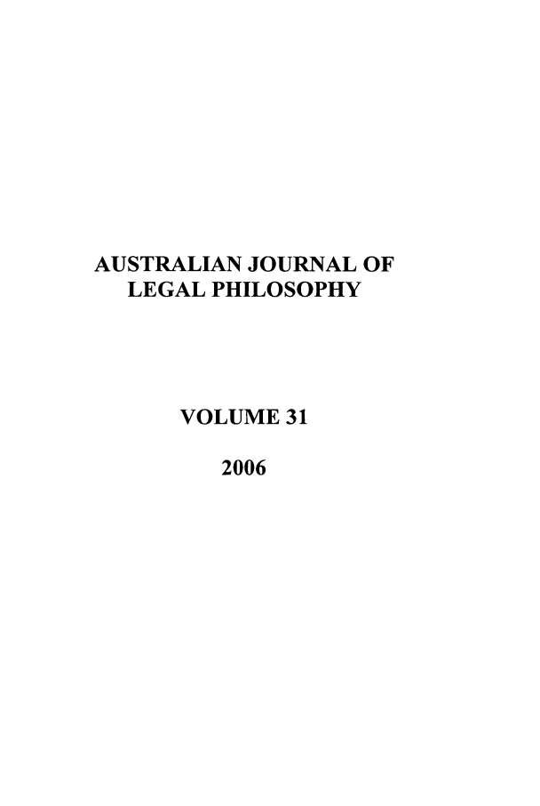 handle is hein.journals/ajlph31 and id is 1 raw text is: AUSTRALIAN JOURNAL OF