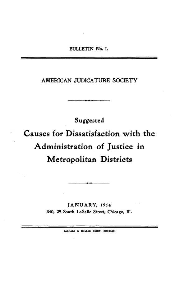 handle is hein.journals/ajudso1 and id is 1 raw text is: BULLETIN No. I.