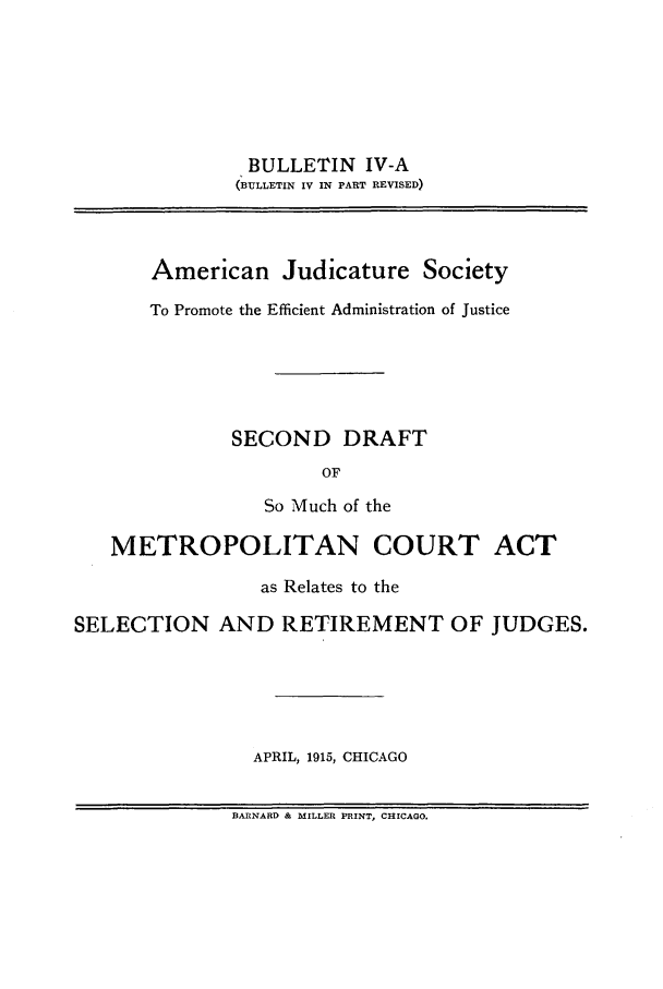 handle is hein.journals/ajudso41 and id is 1 raw text is: BULLETIN IV-A