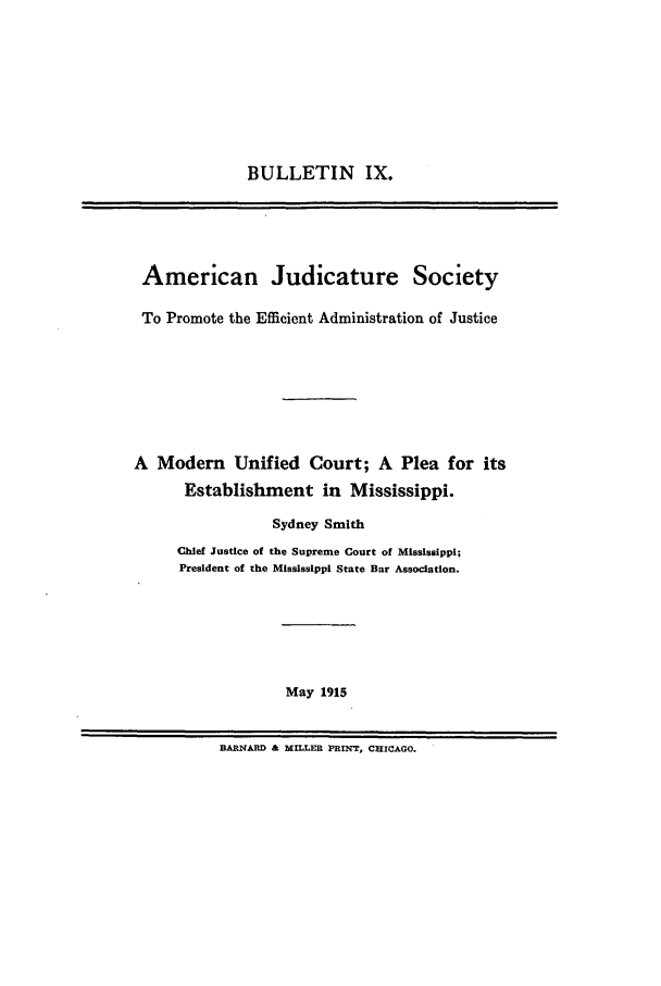 handle is hein.journals/ajudso9 and id is 1 raw text is: BULLETIN IX.
