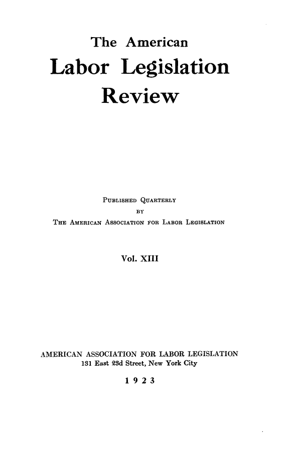 handle is hein.journals/alablegr13 and id is 1 raw text is: The American