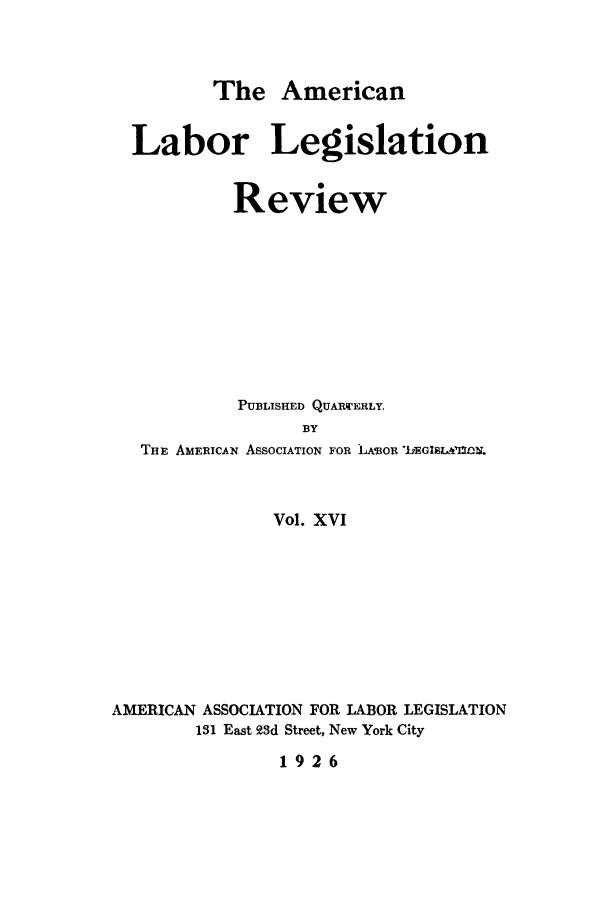 handle is hein.journals/alablegr16 and id is 1 raw text is: The American