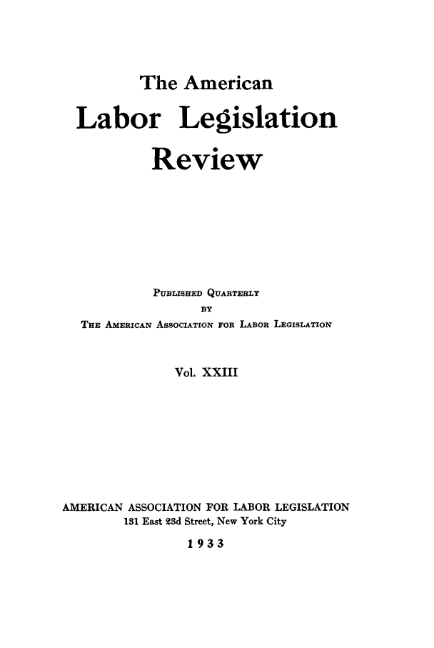 handle is hein.journals/alablegr23 and id is 1 raw text is: The American