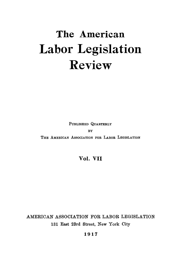 handle is hein.journals/alablegr7 and id is 1 raw text is: The American