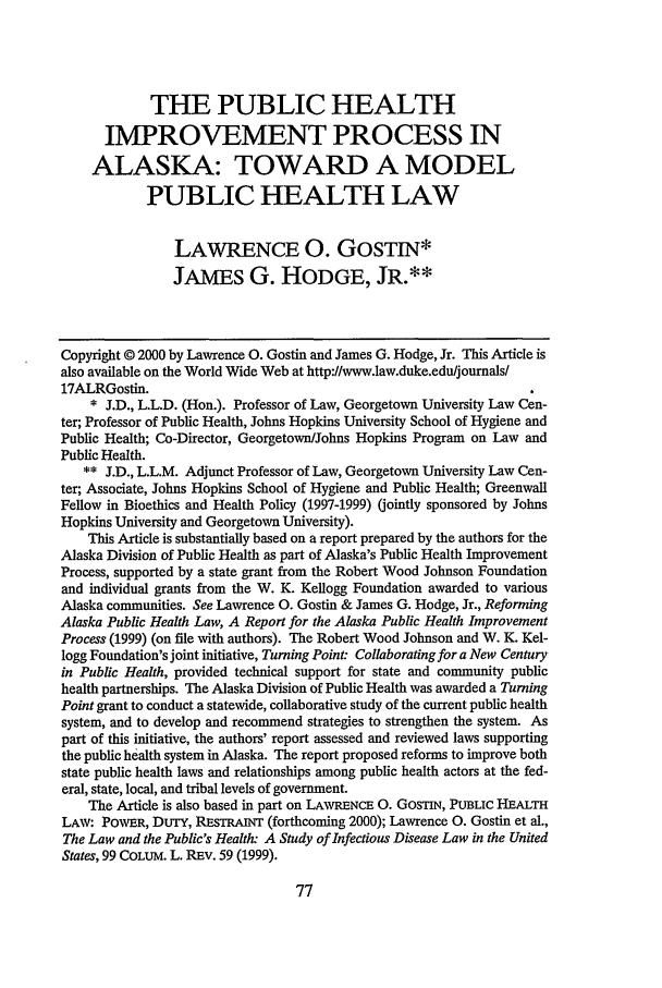 handle is hein.journals/allr17 and id is 83 raw text is: THE PUBLIC HEALTH