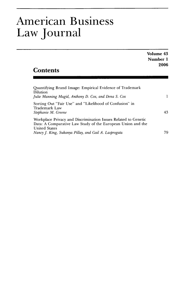 handle is hein.journals/ambuslj43 and id is 1 raw text is: 