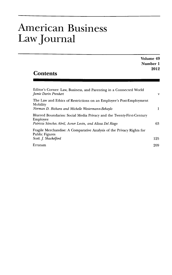 handle is hein.journals/ambuslj49 and id is 1 raw text is: 