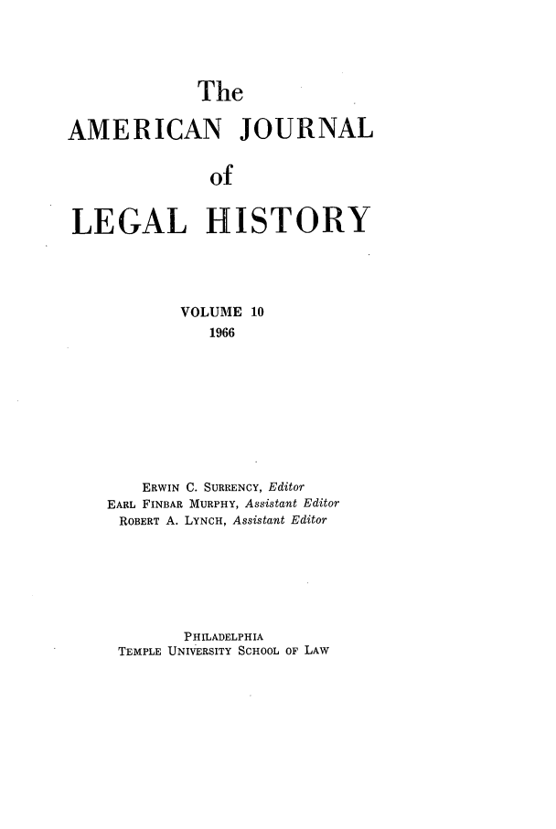 handle is hein.journals/amhist10 and id is 1 raw text is: The