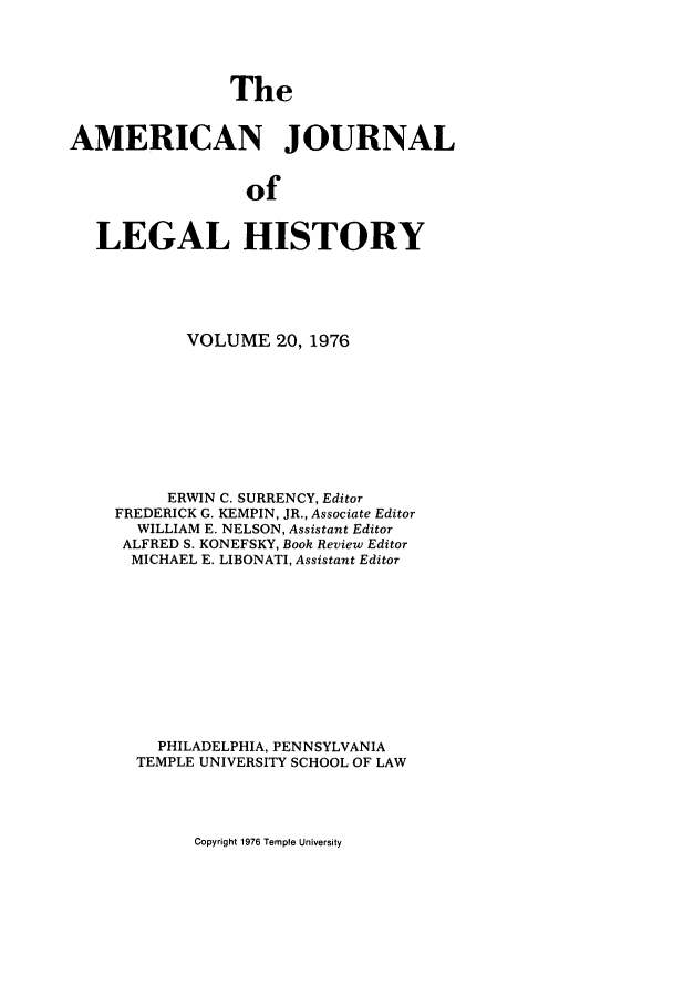 handle is hein.journals/amhist20 and id is 1 raw text is: The