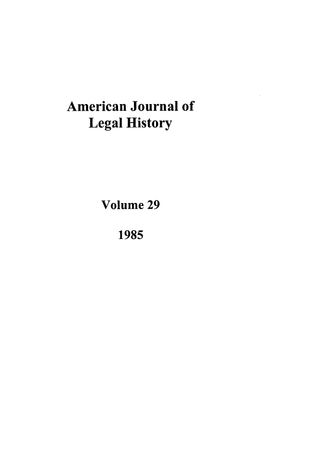 handle is hein.journals/amhist29 and id is 1 raw text is: American Journal of