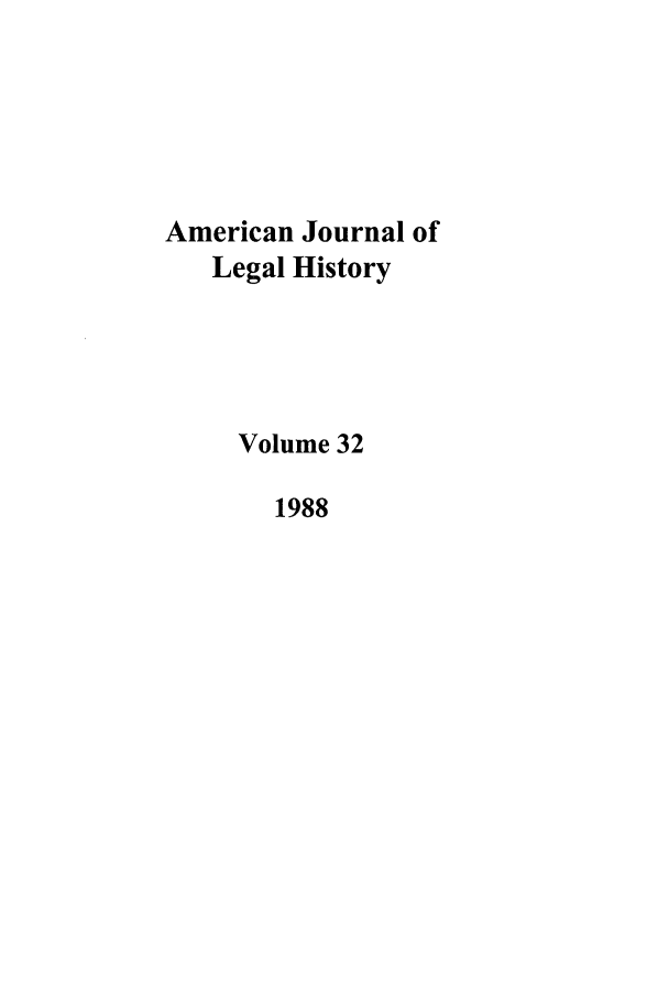 handle is hein.journals/amhist32 and id is 1 raw text is: American Journal of