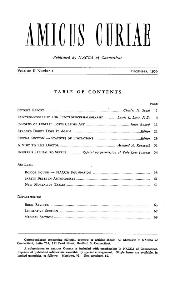 handle is hein.journals/amicura2 and id is 1 raw text is: AMICUS CRIAE