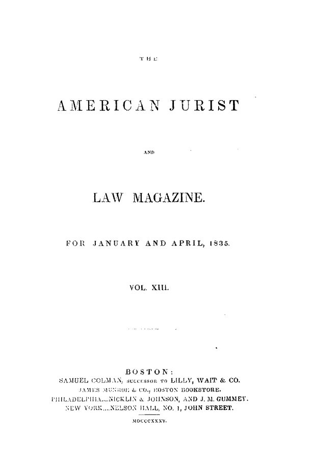 handle is hein.journals/amjlm13 and id is 1 raw text is: If 11 c
