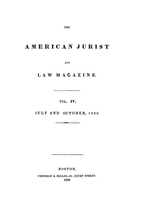 handle is hein.journals/amjlm4 and id is 1 raw text is: THE