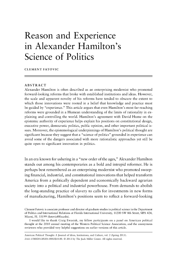 handle is hein.journals/ampolth2 and id is 1 raw text is: 