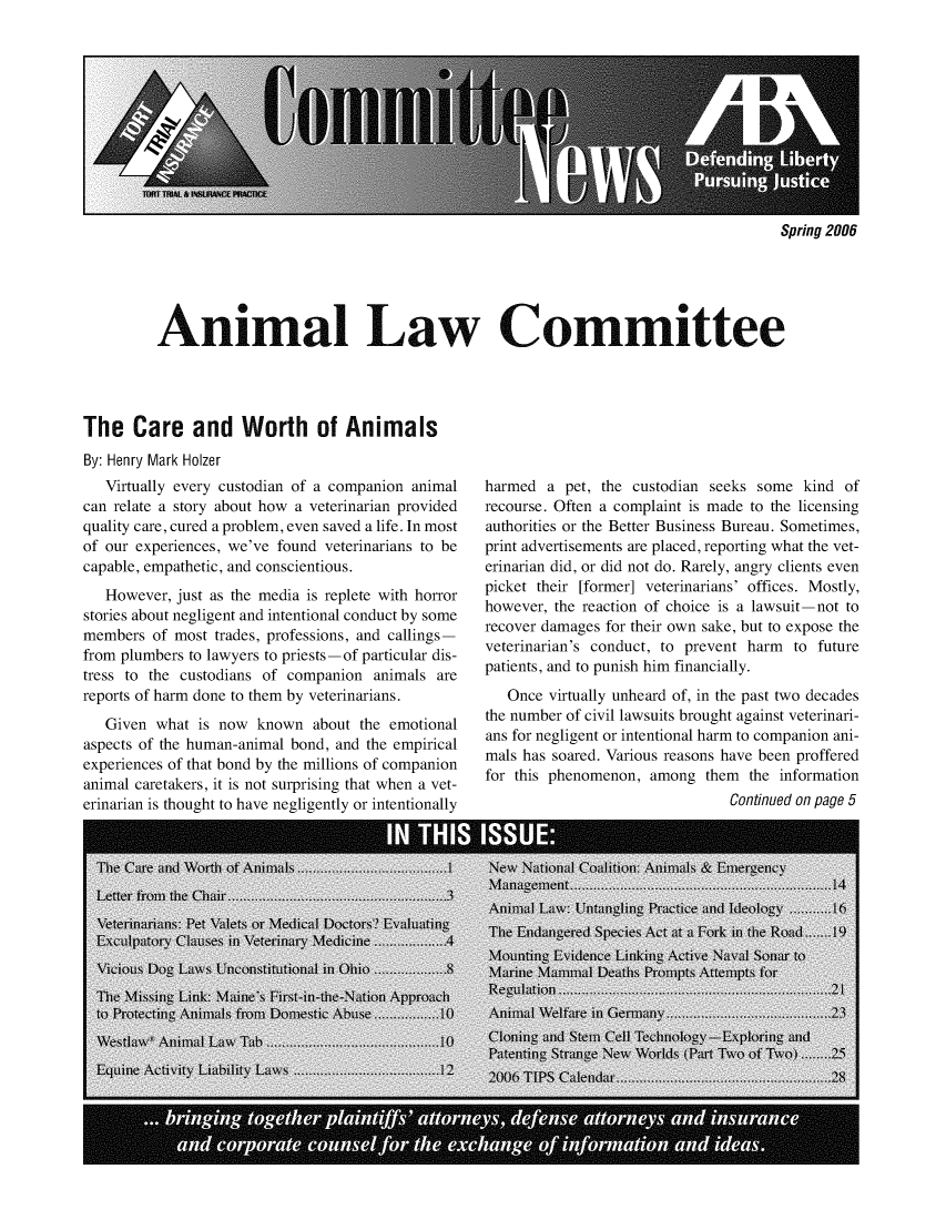 handle is hein.journals/anilawcn2006 and id is 1 raw text is: 