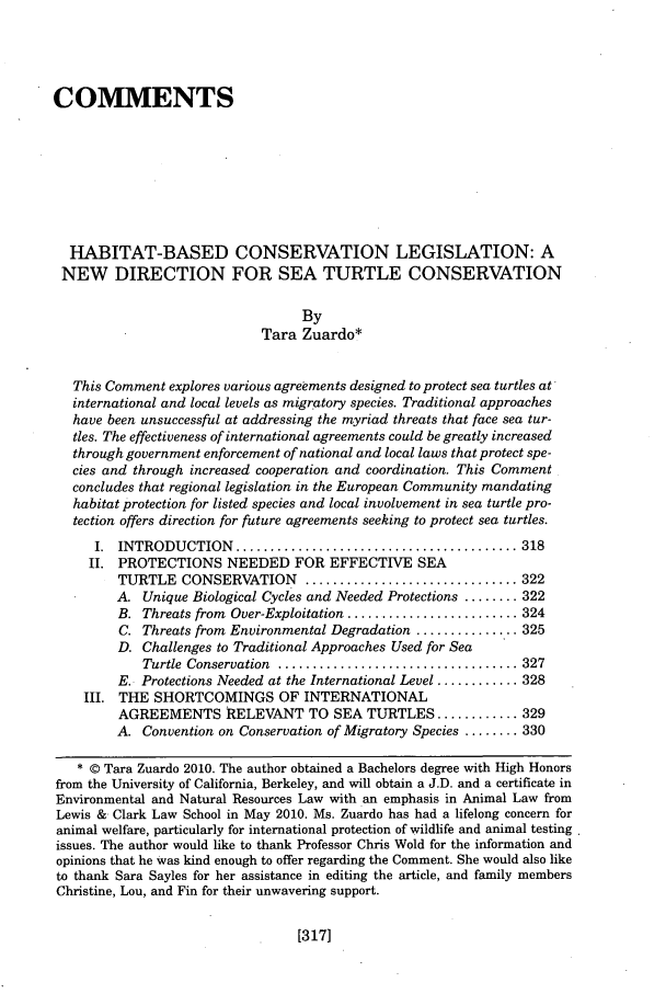 handle is hein.journals/anim16 and id is 325 raw text is: COMMENTS