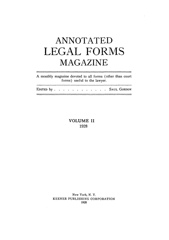 handle is hein.journals/anlefom2 and id is 1 raw text is: ANNOTATED
