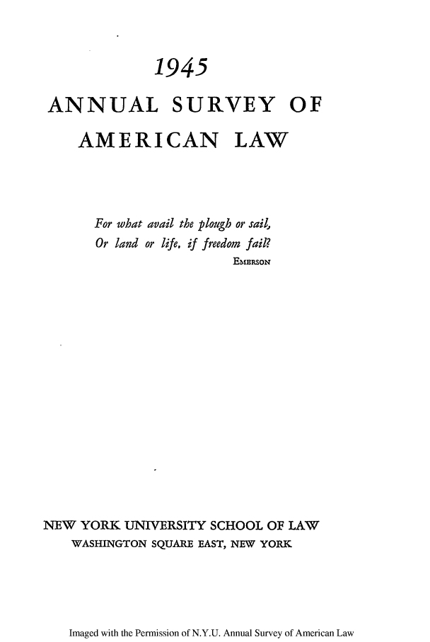handle is hein.journals/annam1945 and id is 1 raw text is: 1945
