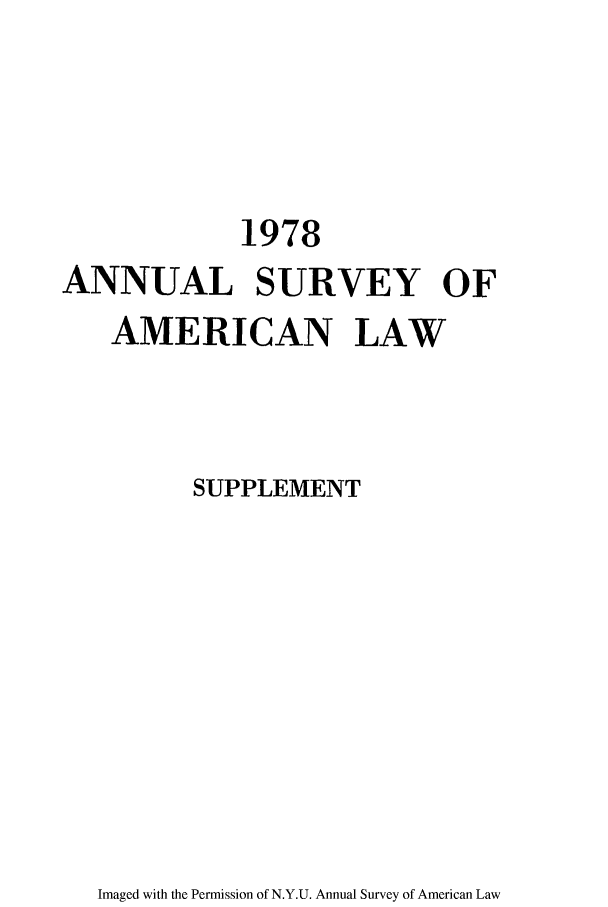 handle is hein.journals/annams1978 and id is 1 raw text is: 1978