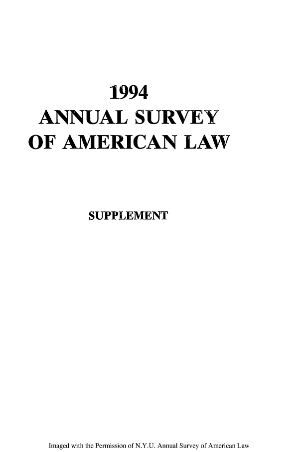 handle is hein.journals/annams1994 and id is 1 raw text is: 1994